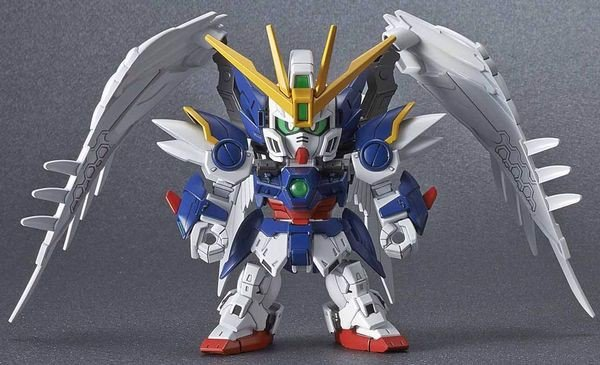 review Wing Gundam Zero EW SD Gundam Cross