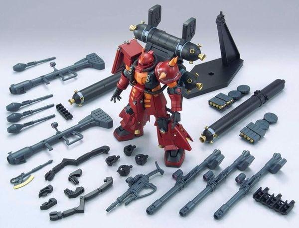 review Zaku II Psycho Zaku Gundam Thunderbolt Anime HG