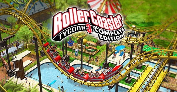 RollerCoaster Tycoon 3 completed edition nintendo switch
