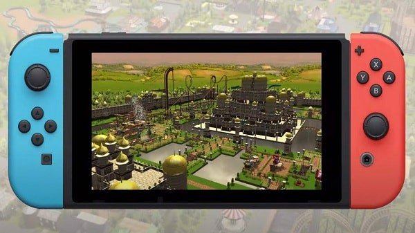 RollerCoaster Tycoon 3 nintendo switch screenshot