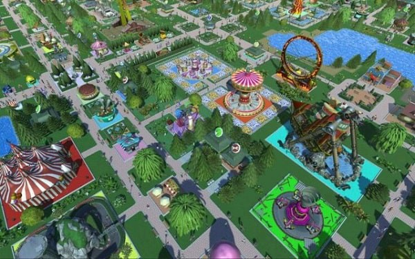 RollerCoaster Tycoon Adventures top game vua hoc vua choi