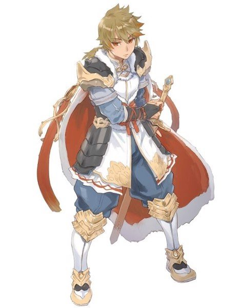 Rune Factory 5 nintendo switch Reinhard