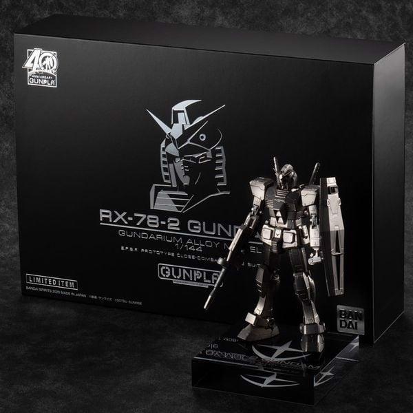 RX-78-2 Gundam Gundarium Alloy siêu đẹp