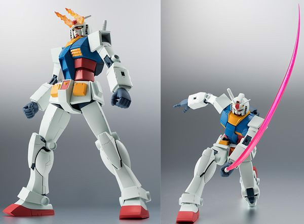RX-78-2 Gundam Ver ANIME Robot Spirits Side MS bandai