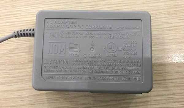 Original charger of DSi, 2DS, new 3DS XL