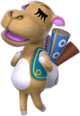 Saharah trong Animal Crossing New Horizons
