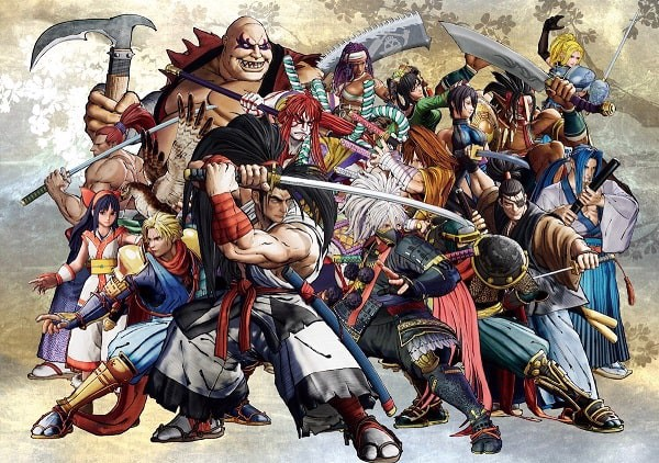 Huyền thoại game đối kháng Samurai Shodown Game đánh lộn 2 người retro