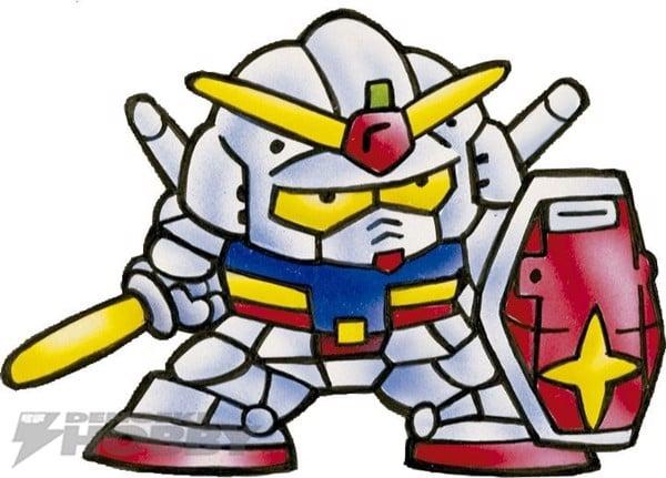 SD Gundam là gì Phác họa SD Gundam của Koji Yokoi