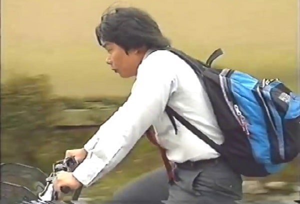 SHIGERU MIYAMOTO  di xe dap