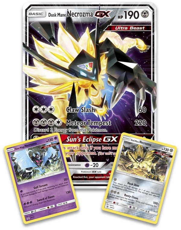 shop bán bài pokemon Dusk Mane Necrozma Premium Collection