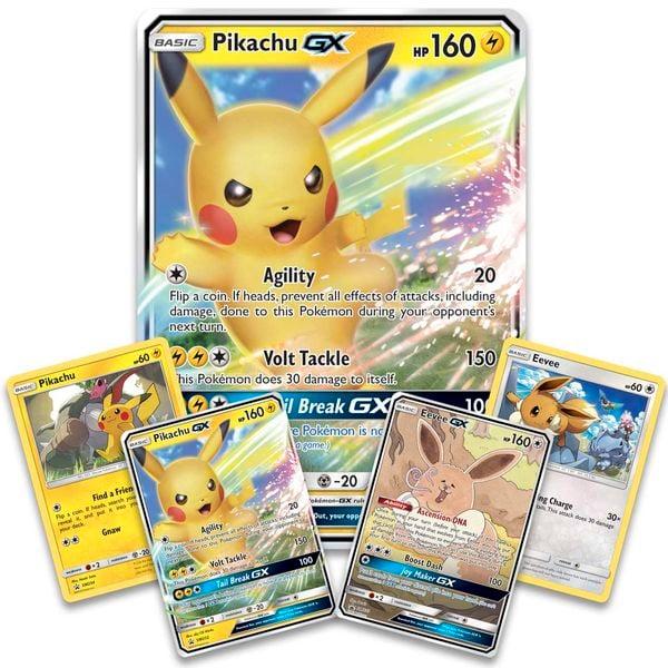 shop bán bài Pokemon Pikachu-GX Eevee-GX Special Collection giá rẻ