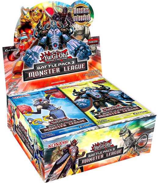 BATTLE PACK 3 MONSTER LEAGUE TCG