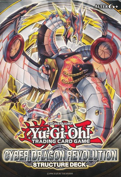 CYBER DRAGON REVOLUTION STRUCTURE DECK TCG