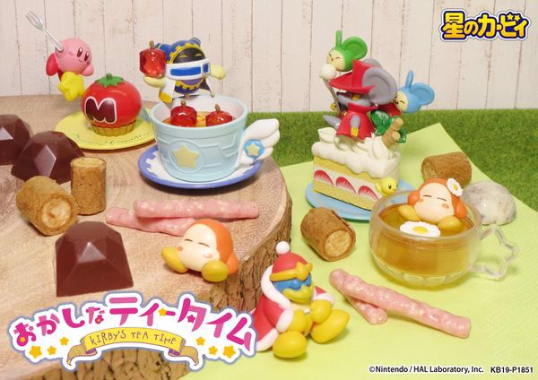 shop bán figure Kirby Funny Tea Time rement