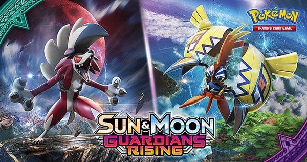 GUARDIANS RISING BOOSTER PACK POKEMON TCG  SUN  MOON