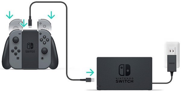 shop bán Joy-Con Charging Grip cho Nintendo Switch