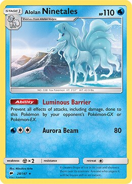 LUMINOUS FROST THEME DECK POKEMON TRADING CARD GAME
