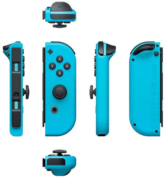 shop bán Nintendo Switch Joy-Con Controller Set Neon Blue