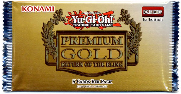 PREMIUM GOLD 2 RETURN OF THE BLING TCG