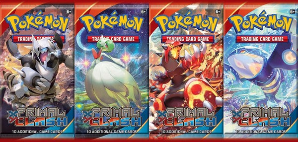 PRIMAL CLASH BOOSTER PACK POKEMON TRADING CARD GAME  XY