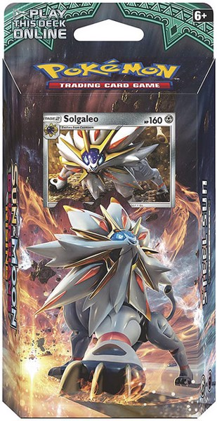 STEEL SUN THEME DECK POKEMON TRADING CARD GAME