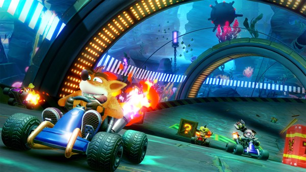 shop game bán CTR Crash Team Racing Nitro Fueled cho PS4 đua xe cáo