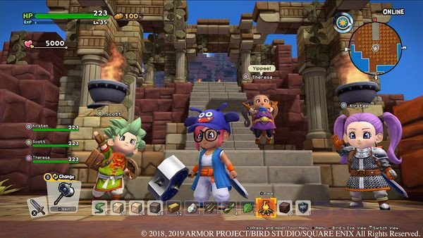 shop game bán Dragon Quest Builders 2 cho Nintendo Switch