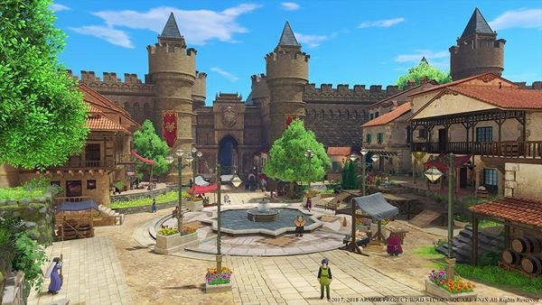 shop bán game Dragon Quest XI Echoes of an Elusive Age cho PS4