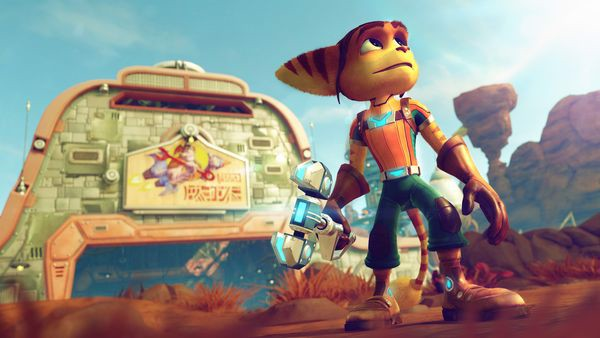 shop game bán game Ratchet & Clank cho ps4