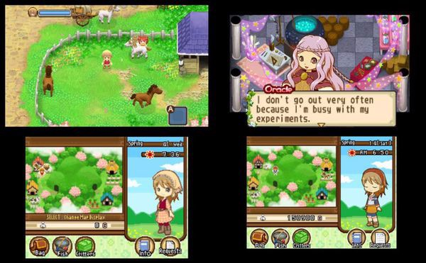shop game bán Harvest Moon Tale of Two Towns cho Nintendo 3DS