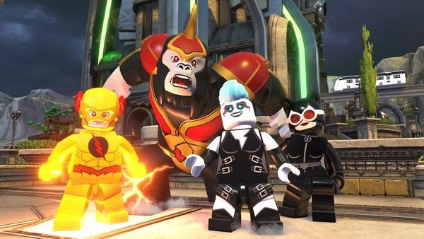 shop game bán Lego DC Super-Villains cho nintendo switch