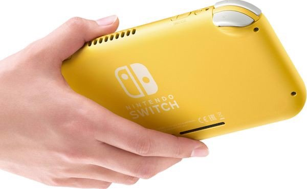 shop game bán máy game Nintendo Switch Lite Yellow