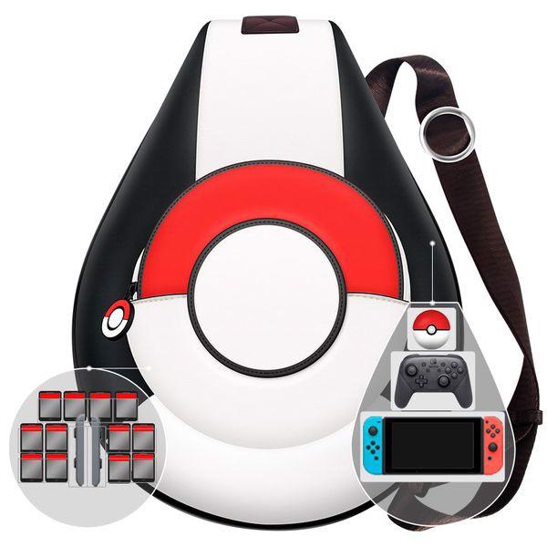 shop game bán phụ kiện túi đeo chéo Pokeball đựng máy Nintendo Switch