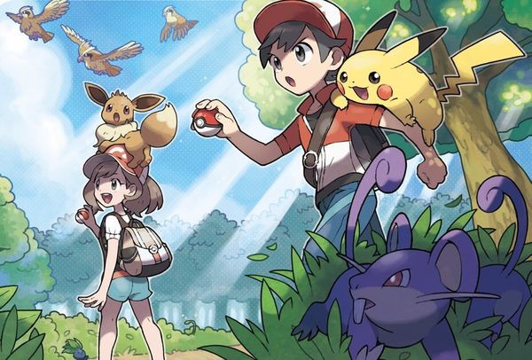 shop game bán pokemon let go cho máy nintendo switch