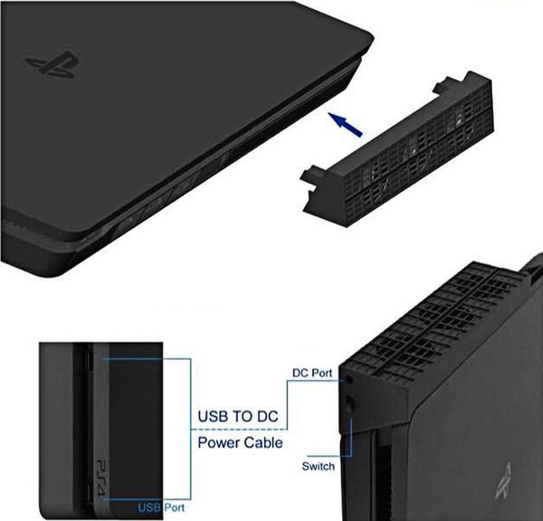 shop game bán PS4 Slim Cooling Fan quạt tản nhiệt PS4 Slim