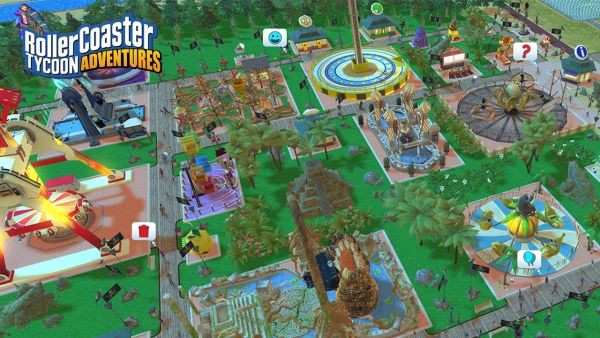 shop game bán RollerCoaster Tycoon Adventures Nintendo Switch