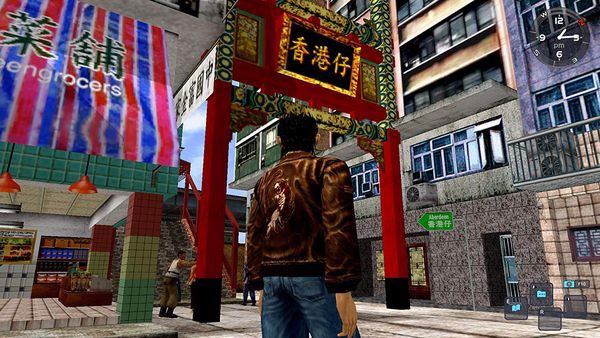 shop game bán Shenmue I & II cho playstation 4