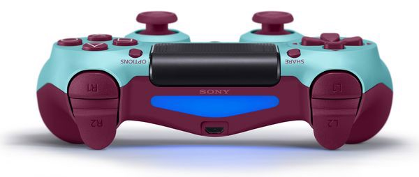 shop game bán tay ps4 DualShock 4 Berry Blue Xanh
