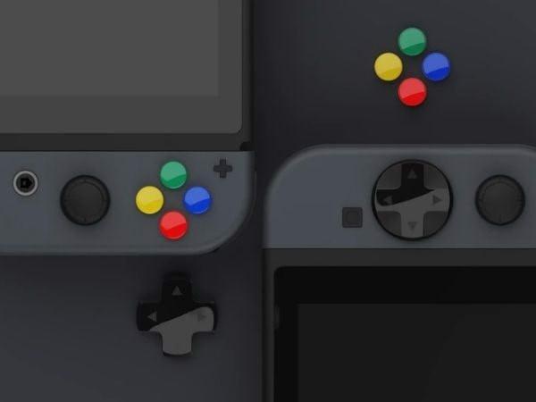 Shop game HCM phụ kiện Cover nút bấm D-Pad cho Nintendo Switch