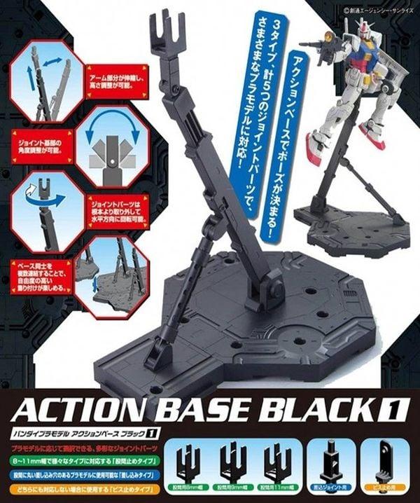 shop gundam bán Gundam Action Base 1 Black