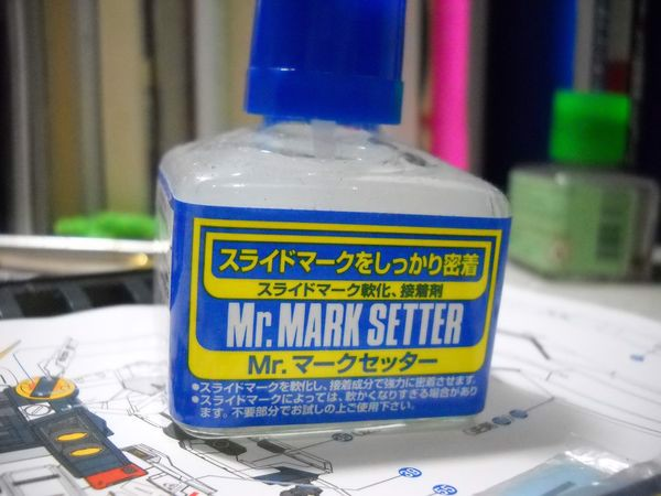 shop gundam bán phụ kiện Mr Mark Setter keo dán decal Gundam