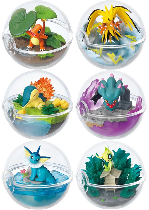 shop mô hình bán figure Pokemon Terrarium Collection 3