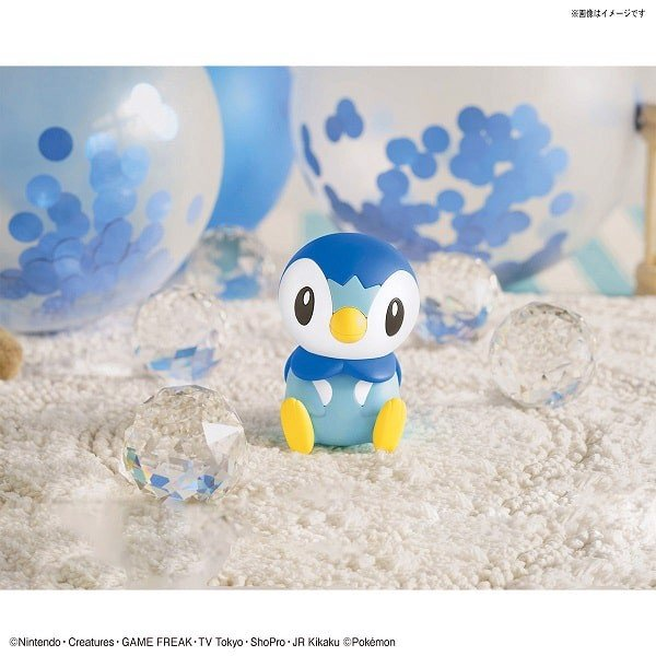 Shop mô hình Pokemon Piplup - Pokemon Plamo Collection Quick