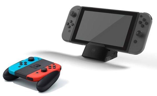 shop nintendo bán phụ kiện dock mini cho Nintendo Switch xuất TV
