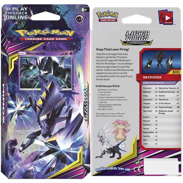 shop pokemon bán bộ bài Pokemon Laser Focus Theme Deck