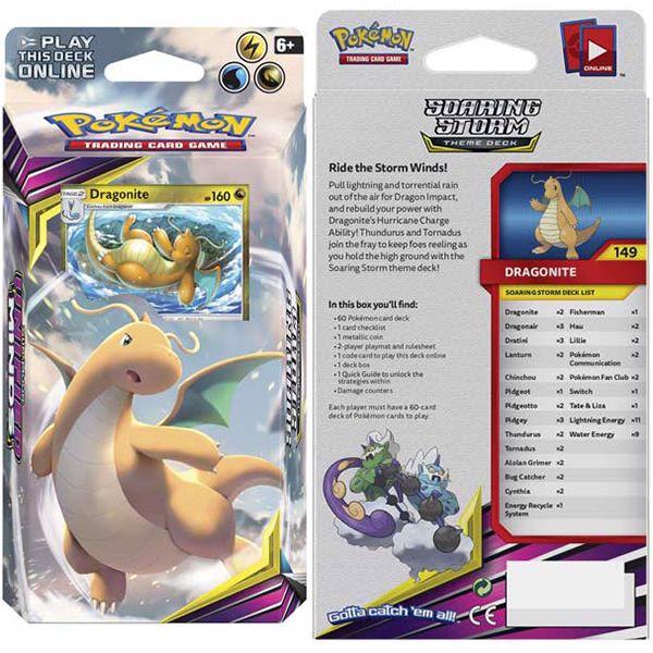 shop pokemon bán bộ bài Pokemon Soaring Storm Theme Deck