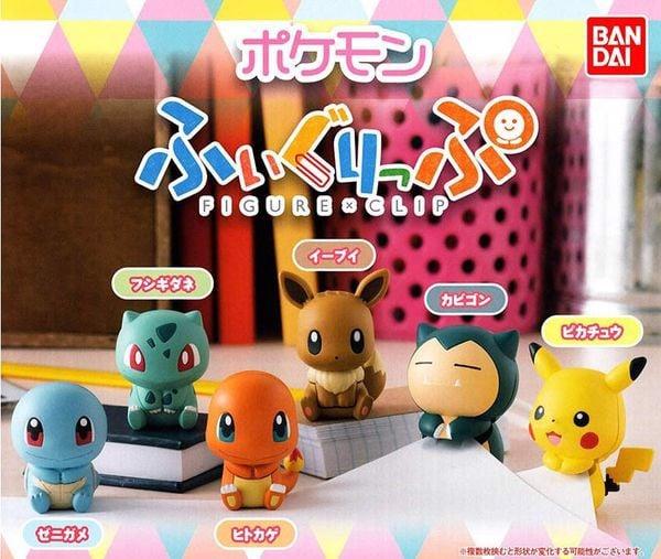 shop pokemon bán figure Pokemon Figure x Clip