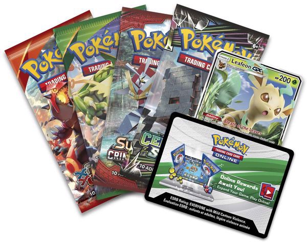 shop pokemon bán Leafeon-GX Evolution Celebration Tin