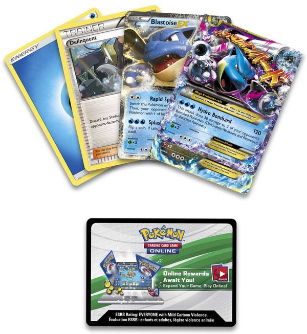 shop pokemon bán bài Mega Blastoise Battle Arena Deck
