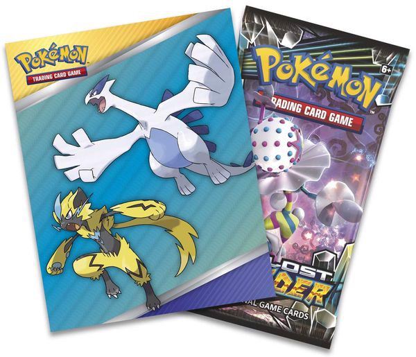 shop pokemon bán Mini album đựng bài Pokemon Lost Thunder